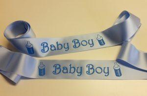 nummerstickers geboorte bedrukt lint zuid-scharwoude